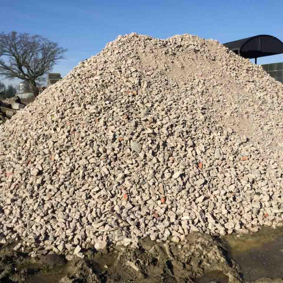 JTC Concrete Crushing in Shropshire